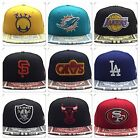 New Era Snapback 9fifty Kaleidovize Pattern Visor Hat Cap All Teams NFL NBA MLB