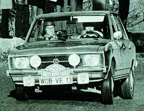 VW Volkswagen K70 Rallye Monte Carlo 1971 #290 #292 #296-1:87 Decal Abziehbild