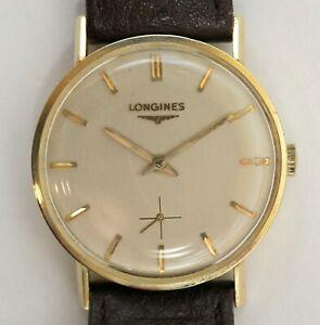 14K-Longines-Dress-Watch-Ref-R6010-Cal-370-Runs-Perfectly