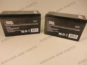 RAZOR ELECTRIC SCOOTER E200 & E300 BATTERY SET OF TWO BATTERIES BRAND NEW
