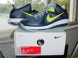 quality design f1e9b 2e045 Image is loading Nike-Air-Zoom-Max-LeBron-James-IX-9-