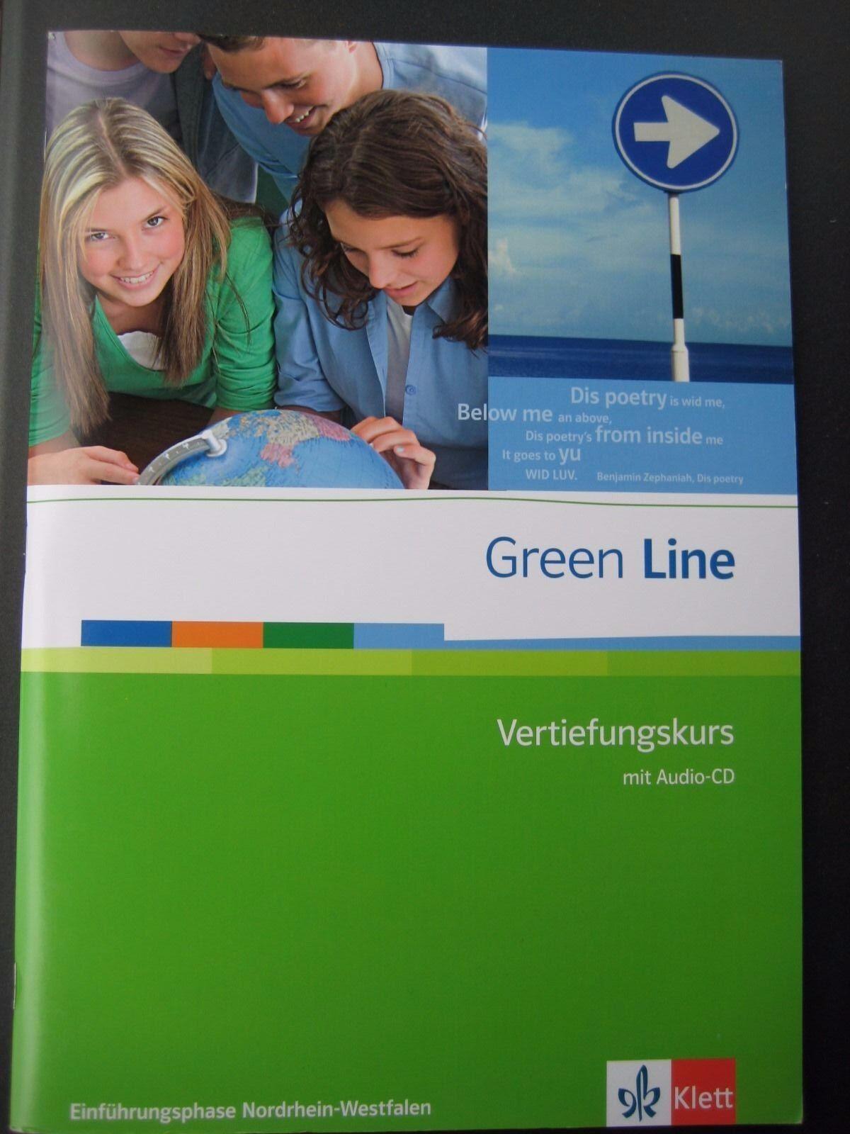 Green Line. Klasse 10. Vertiefungskurs mit Audio CD. Einführungsphase. Nordrhein