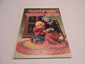 LITTLE-RED-RIDING-HOOD-Wolf-PUPPET-DOLLS-Wonder-books-T-IZAWA-S-HIJIKATA-1971