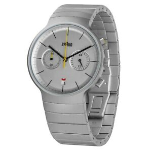Braun-Mens-Classic-Chronograph-Quartz-Watch-Stainless-Steel-Bracelet-BN0265
