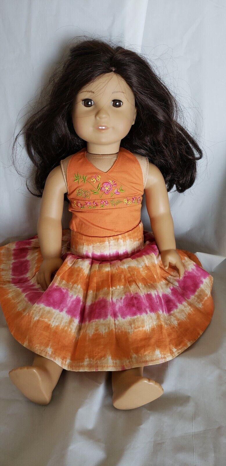 American Girl DollJess EUC 2006 girl of the year