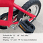 thumbnail 3 - Upgraded Kids Bike Pedals 1/2-Inch Bike Pedals 1 Pair Kids Spindle Pedals Resin