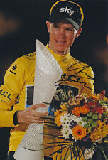 Chris Froome - Autographed Signed 8X12 inches 2013 Tour De France Photo - Proof