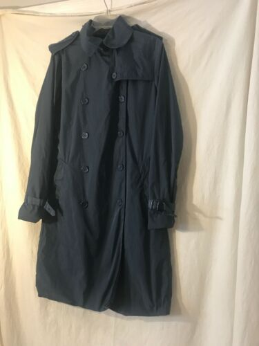Norma Kamali Women's Size Medium Trench / Rain Coa