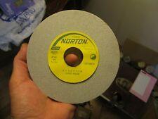 Nos Norton 32a60 K8vbe 6 X 12 X 1 14 Surface Bench Grinding Wheel Usa L5518810