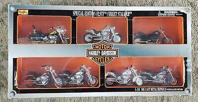 Maisto Motorcycles 1:18 Harley-Davidson Series 37 2000 FLSTF Street Stalker Gree
