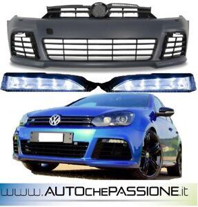 Paraurti-anteriore-Golf-6-versione-R-R20-dal-2008-gt-12-ABS-completo