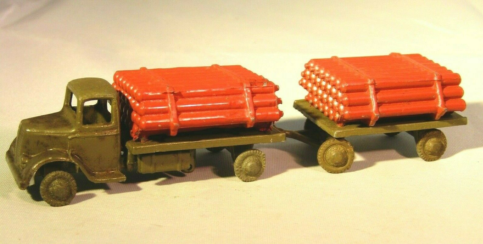 Mycket sällsynta britter OO Gage Gascylinder Lorry och Tjärnväger