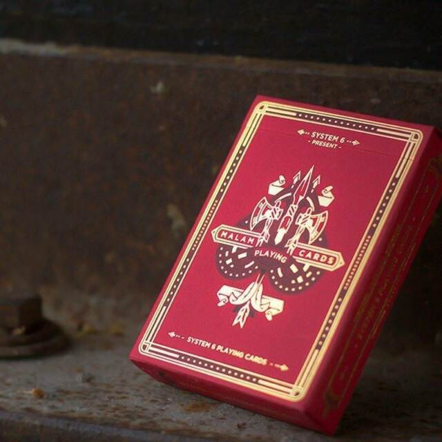 Malam Playing Cards Deluxe Limited Edition Deck Native American