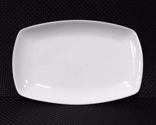 Assiette Servier Assiette suppléments plaque porcelaine Plaque environ 36 cm rectangulaire blanc