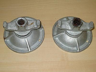 Schalung neue Gelenkplatte verzinkt für Spannstäbe DN15 20 Stück