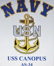 US USN Navy USS Canopus AS-34 Submarine Tender T-Shirt