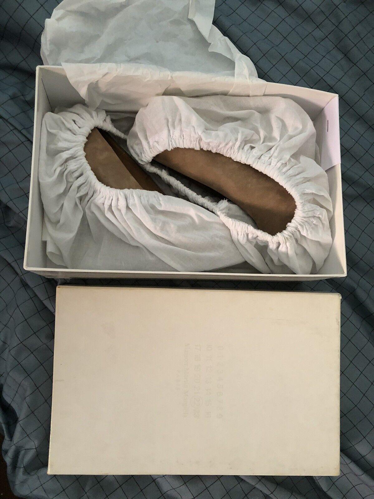 Maison Martin Margiela High Heel Leather Shoes Si… - image 6