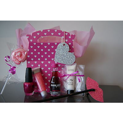 Luxury Classy Hen Party Gift Bags/ Survival Kits - Pre-Filled Hen Party Bag