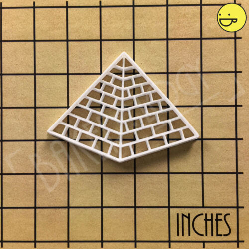Great Pyramid of Giza cookie cutter Ancient Egypt Pharaoh Egyptian tomb biscuit