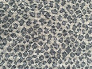 Stanton Wiltrex Felix Leopard Carpet White Rain 3ft x 9ft Runner