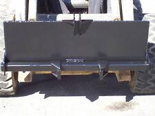 New Skid Steer 3 Point Attachmenttrailer Hitchbackhoebobcatkubotakmkwelding
