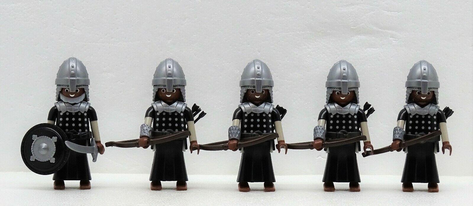 5 x Sarazene Archer Playmobil Persian vs.Crusader Crusader Roman