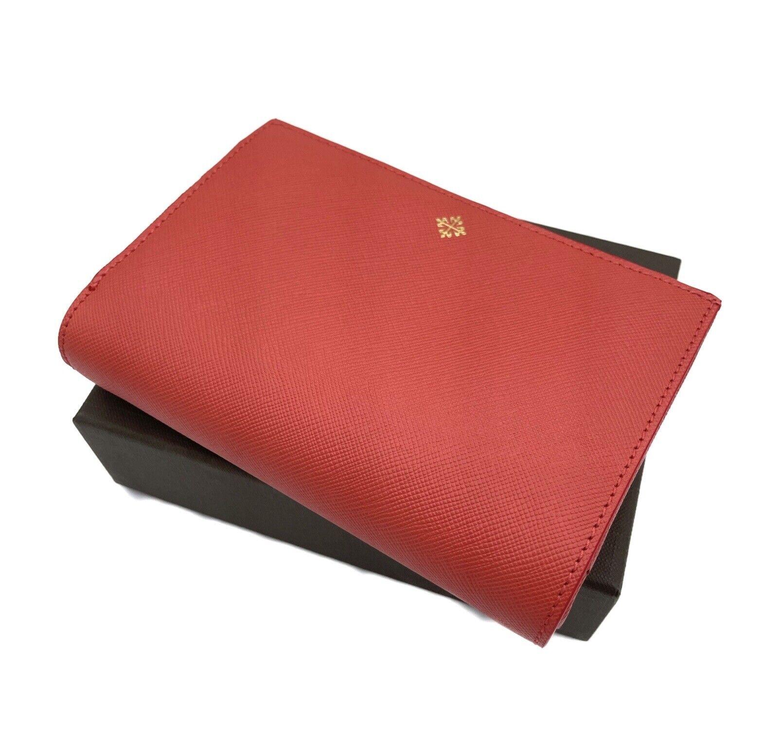 Patek Philippe Leather Wallet SALMON WALLET NEW ORIGINAL PERFECT