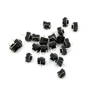 20Pcs Momentary Tactile Tact Push Button 2 Pin Switch DIP 6 x 6 x 5mm W N_sc - Hessen, Deutschland - 20Pcs Momentary Tactile Tact Push Button 2 Pin Switch DIP 6 x 6 x 5mm W N_sc - Hessen, Deutschland