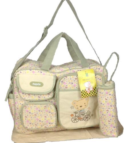 3 tlg Baby XXL Wickeltasche Pflegetasche Windeltasche Babytasche Farbauswahl