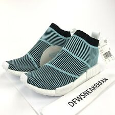 ec03f2373ae Adidas NMD CS1 Parley Men s 7 Primeknit Sneaker Blue White Black AC8597 New