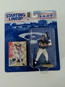 Kenner Starting Lineup Tony Clark Figure and Card 1997 Sealed New