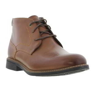 Image is loading Rockport-Classic-Break-Chukka-Boots-Mens-Leather-Ankle-