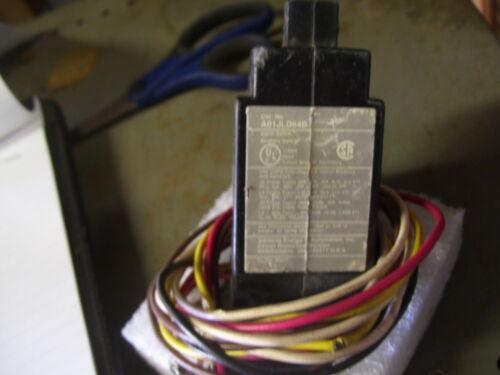 ALARM SWICH 1 SIEMENS CAT# A01JLD64B 1 AUXILIARY SWITCH 480 VAC//250VDC