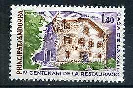 ANDORRE-Fr-1980-yv-289-Maison-des-Vallees-neuf