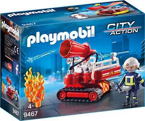 PLAYMOBIL-9467-Feuerwehr-Loeschroboter-NEU-amp-OVP