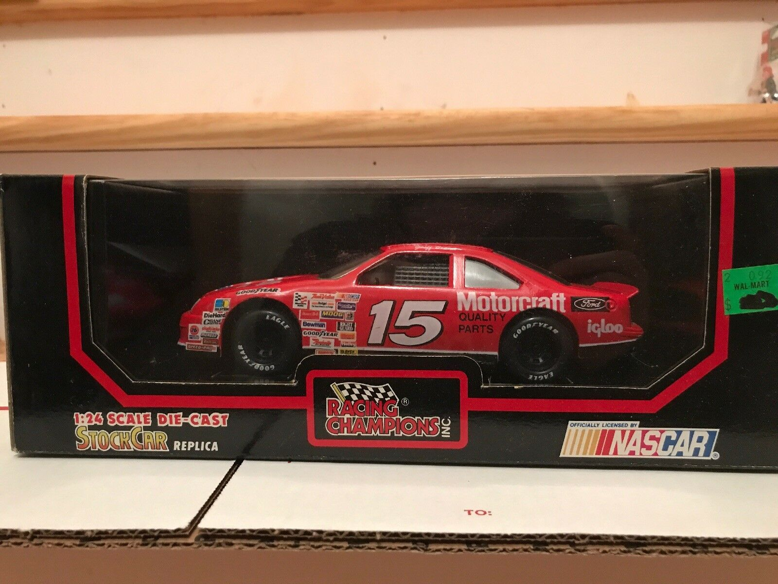Racing Champions Diecast Geoff Bodine Motorcraft Ford 1 24 NASCAR Racing