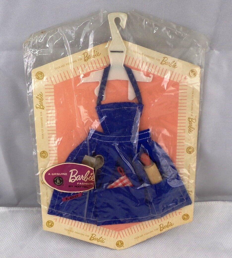 Barbie Moda Pak traje delantal y utensilios en el Paquete