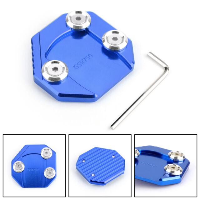 Extension Béquille Latérale Pour Suzuki GSR750 11-15 GSX-S1000/F 15-16 Blue