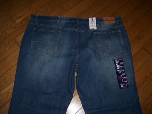 a 32 Fit lunghezza Nwt Vita uomo Relaxed Izod Jeans 75 54 Msrp dritta gamba dqXdPA