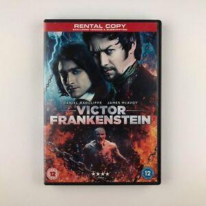 Victor Frankenstein (DVD, 2015) r