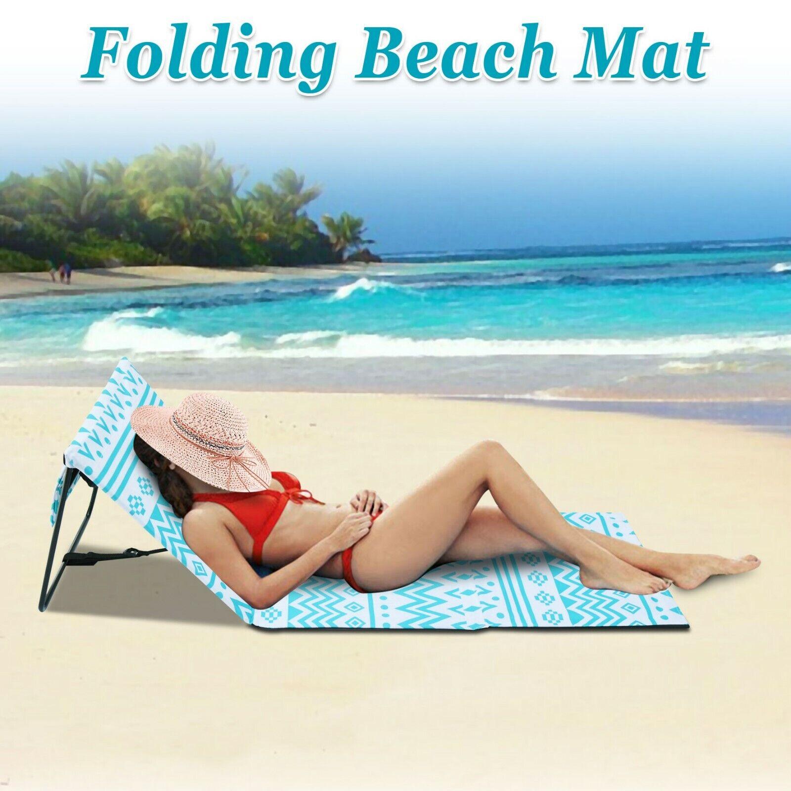 Chair Beach Lounger Outdoor Portable