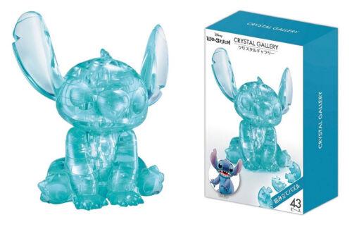 Stitch 43 pcs 3D Puzzle Crystal Gallery Disney Japan Hanayama