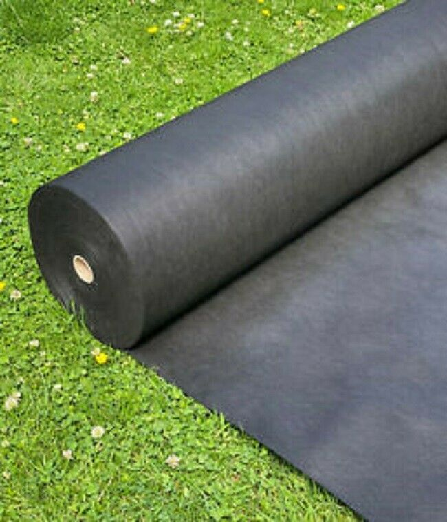 10 METRES x 1M WEED CONTROL FABRIC MEMBRANE GROUND COVER SHEET GARDEN LANDSCAPE