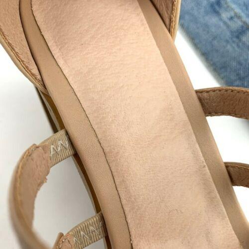 Ladies 7.5cm Block Heel Peep Toe Hollow Out Leather Summer Back Zipper Sandals