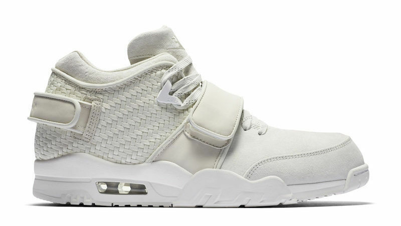 New Nike Men's Air Trainer Victor Cruz shoes (777535-003)  Light Bone  Light Bone
