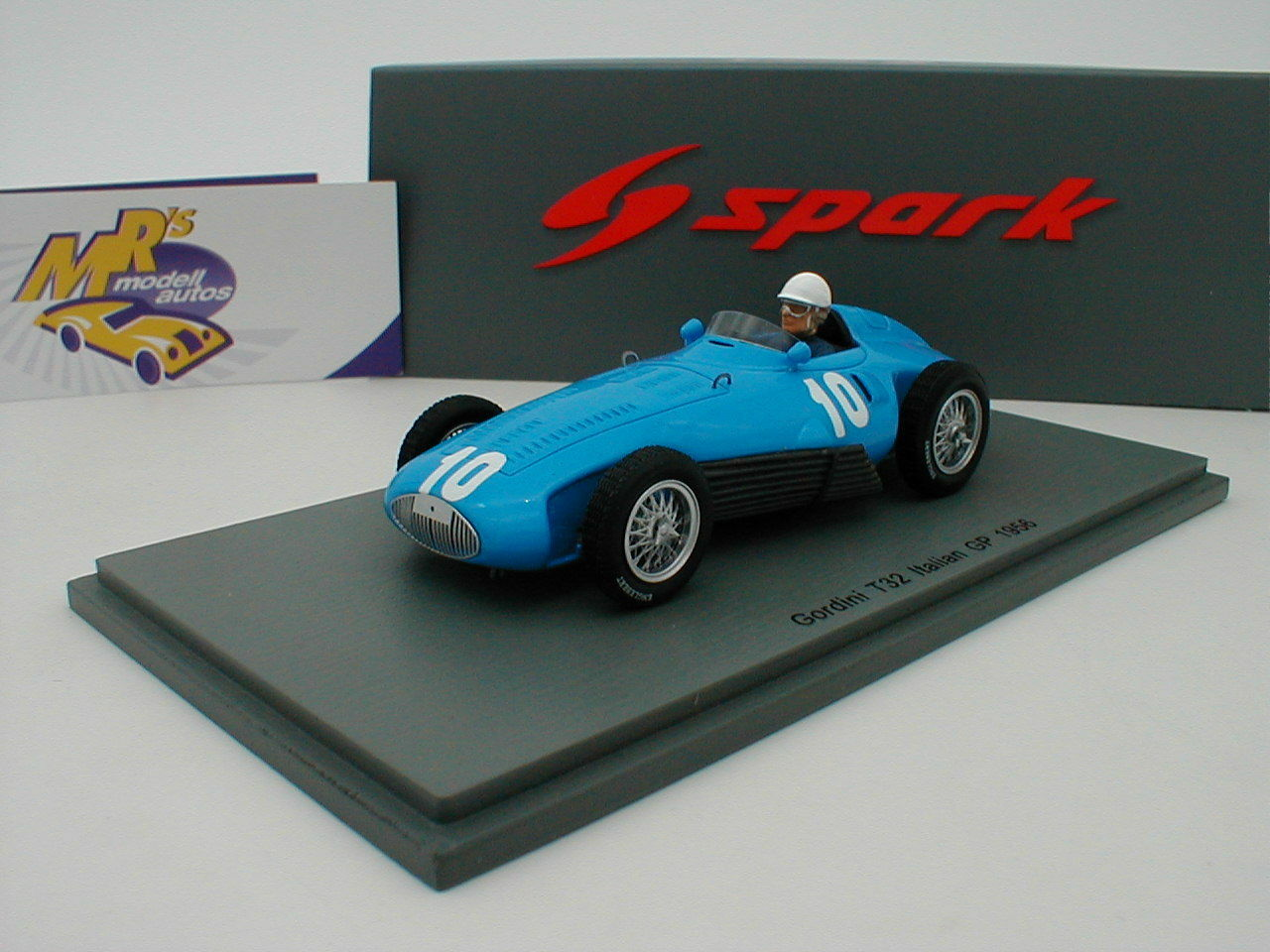 Spark s5315-Gordini t32 nº 10 Italian gp 1956  Robert Manzon  1 43 novedad