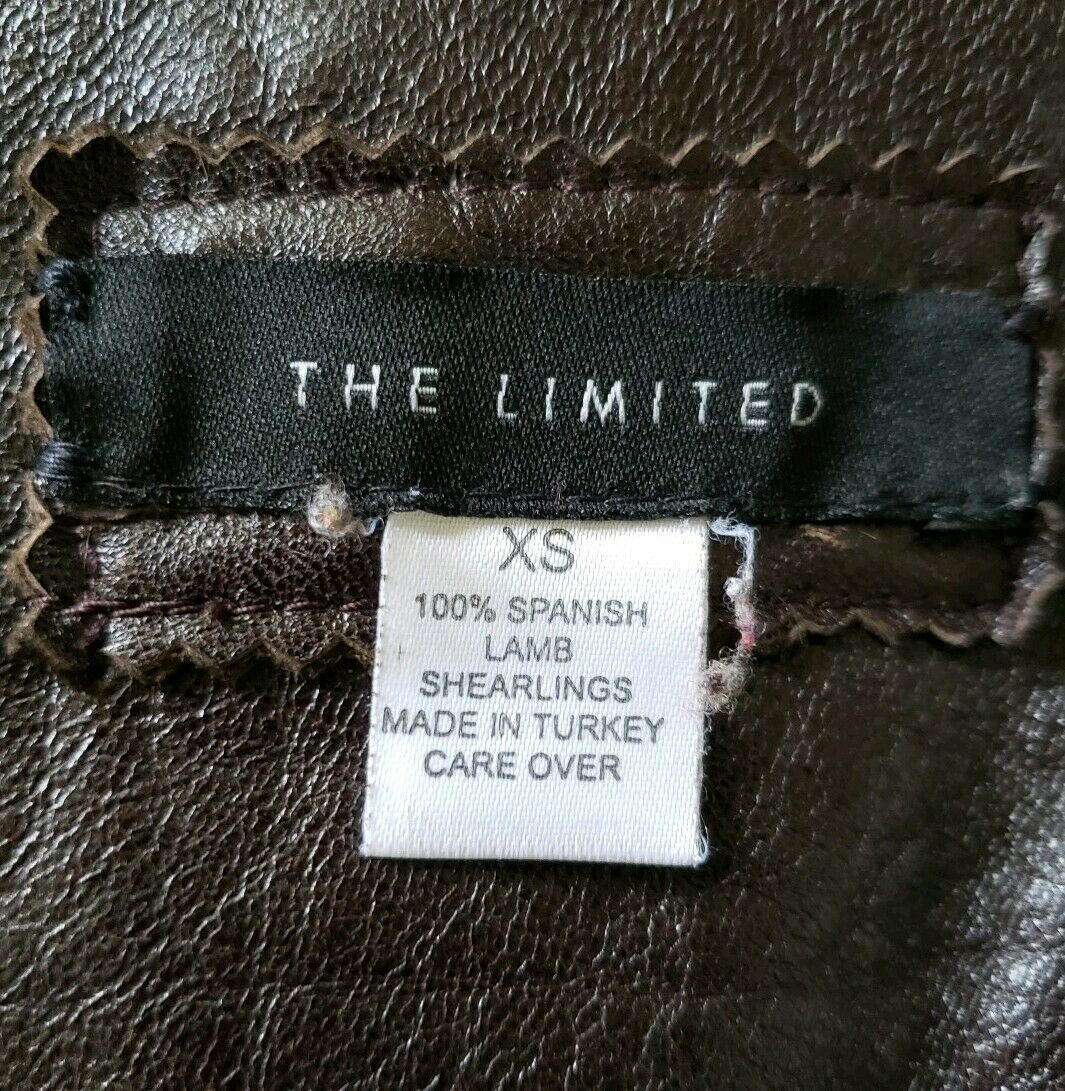 The Limited genuine full length shearling coat sl… - image 7