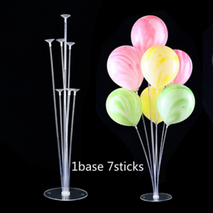 Image Is Loading 1 3x Clear Balloon Column Base Plastic