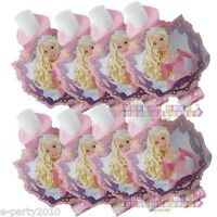 Barbie Perennial Princess Blowouts (8) Birthday Party Supplies Paper Favors