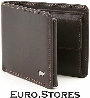 Braun Buffel Wallet Golf BB-92335-051 Men's Brown Leather Trifold Genuine New